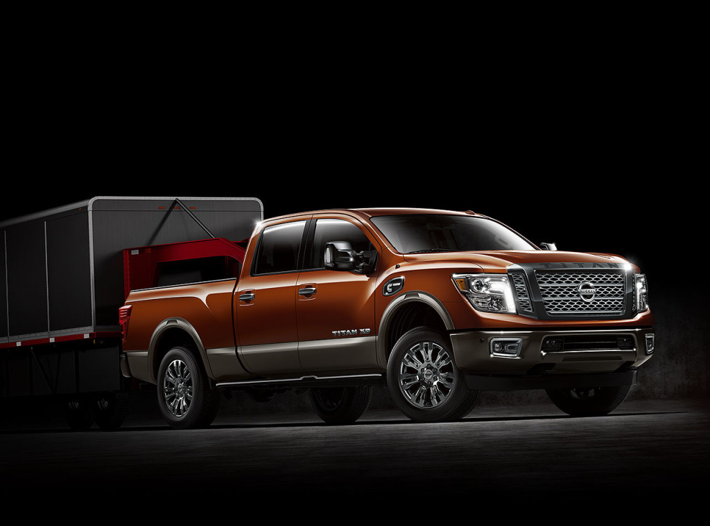 nissan titan xd 2016 towing