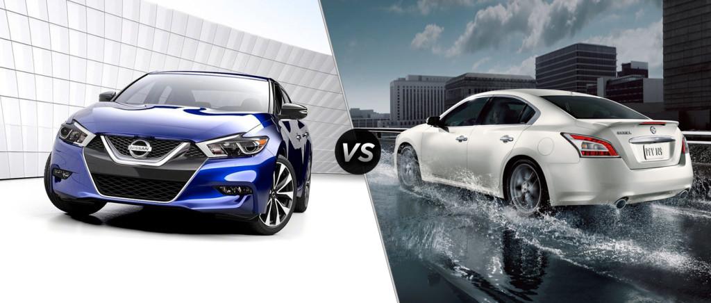 2016 Nissan Maxima vs 2015 Maxima