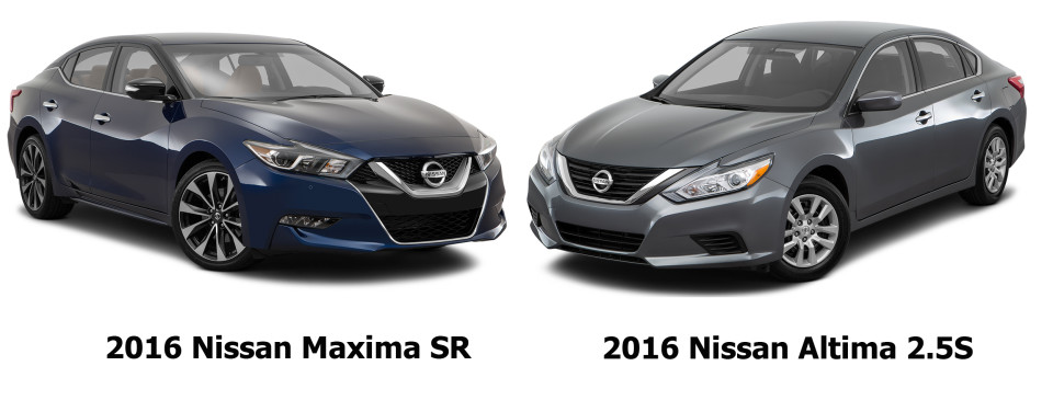 difference between nissan altima and maxima car reviews 2018. Black Bedroom Furniture Sets. Home Design Ideas
