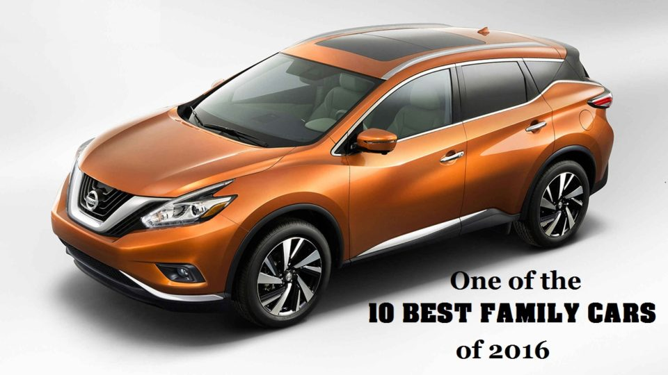 Nissan Murano Recognized As A Top Family Car Choice Lee