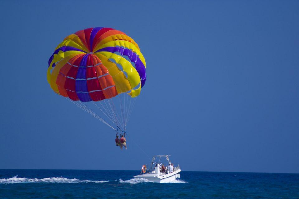parasailing fort walton beach