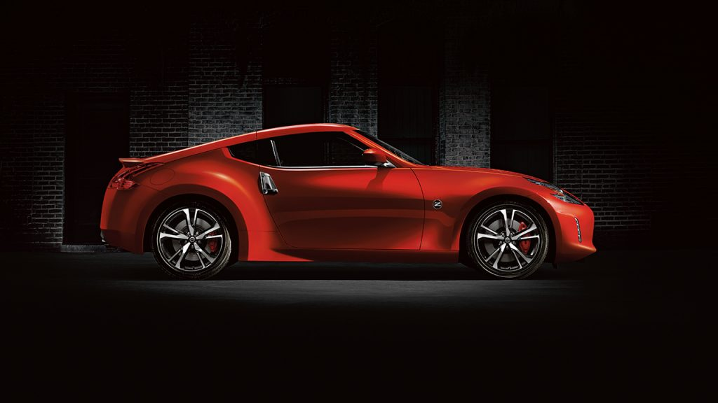 Red 2018 Nissan 370Z Coupe